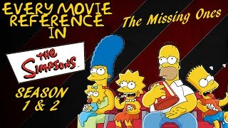 Every Movie Reference of The Simpsons (Season 1&2) The Missing Ones