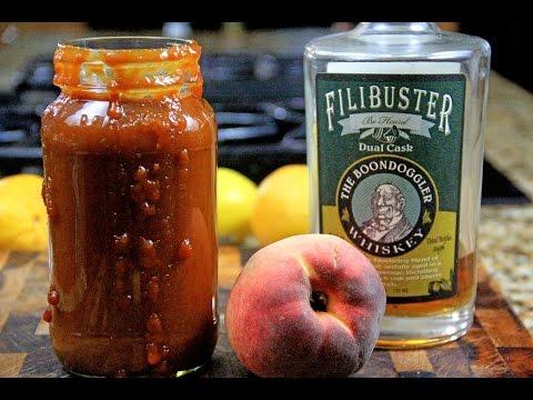 Peach Bourbon BBQ Sauce | How to Make BBQ Sauce