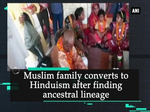 Muslim family converts to Hinduism after finding ancestral lineage - Uttar Pradesh News