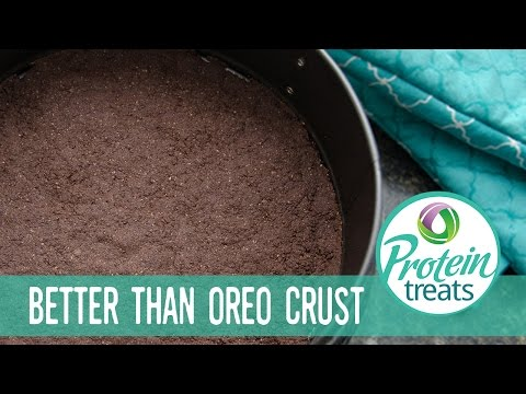 Oreo Cookie Crust – Protein Treats by Nutracelle
