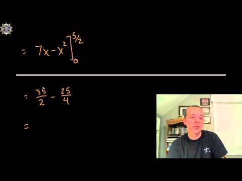 Absolute Value Definite Integral - Example 1