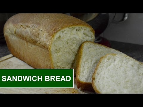 How To Make Homemade SANDWICH BREAD!! | Simply Food