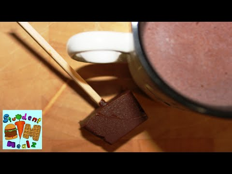 EASY HOT CHOCOLATE on a STICK