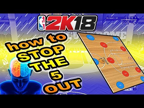 HOW TO DEFEND THE 5 OUT OFFENSE - NBA 2K18 DEFENSIVE TIPS