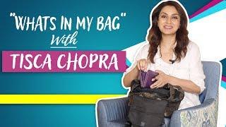 What's In My Bag Ft. Tisca Chopra | Bag Secrets Revealed | POP Diaries Fashion