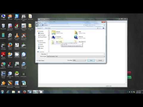 How to CREATE VIRUS | PRANK VIRUS | Funny Virus in window 7/8/10
