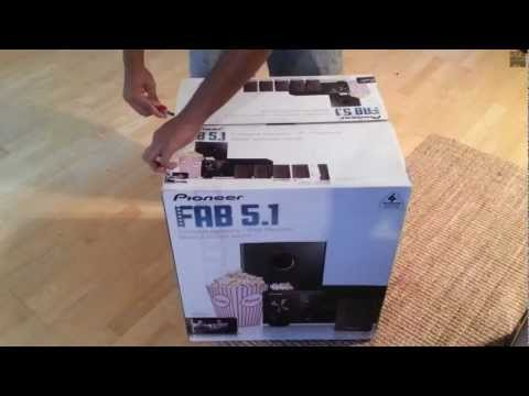 || Pioneer (HTP-522) FAB 5.1 Home Theatre System - Unboxing and First Look || ChocolateUnboxer