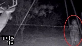 Top 10 Moments Ghosts Were Captured On Camera