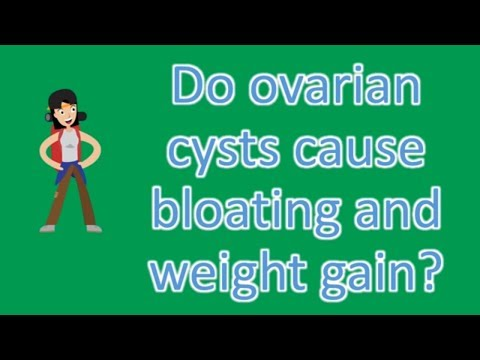 Do ovarian cysts cause bloating and weight gain ? |Find Health Questions | Best Health TIPS