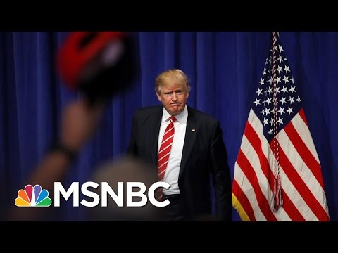 Bob Costa: Donald Trump Doesn't Have Plan B For Obamacare Replacement | MTP Daily | MSNBC