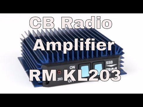 CB Radio Amplifier - RM KL203