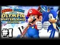 Mario Sonic At The 2014 Sochi Winter Olympic Games 1080p Par
