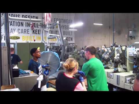 KEEN Factory Tour