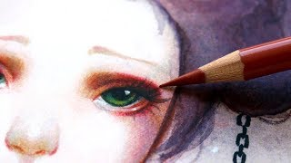 5 ART HACKS THAT ACTUALLY WORK! Watercolors + Color Pencils