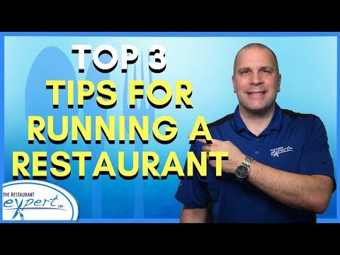 Restaurant Management Tip - Top 3 Tips for Running a Restaurant #restaurantsystems