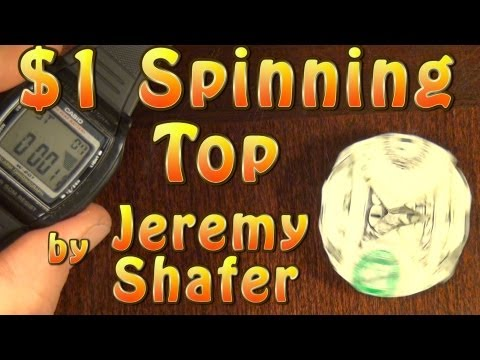 Fold a $1 Dollar Spinning Top! by Jeremy Shafer