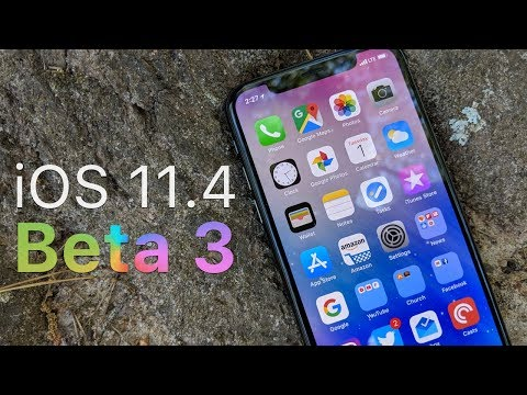 iOS 11.4 Beta 3 - What's New?