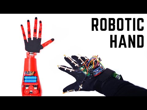How to Make Robot Hand? | Arduino | Wireless Controlled with Glove | nRF24L01