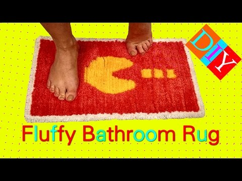 DIY Bathroom Carpet - How To Make Magic Bathroom Rug - Diy Yarn Carpet
