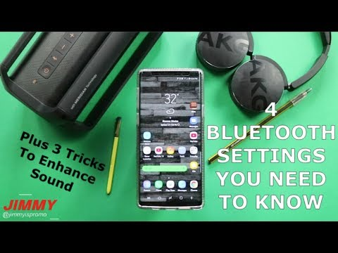 Galaxy Note 9 - 4 VERY Important Bluetooth Features PLUS Hidden Settings