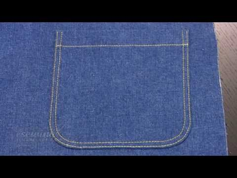 Patch Pocket Sewing - Introduction (FREE SAMPLE)