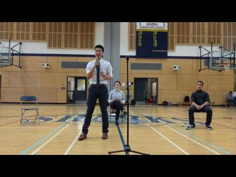 Andy Cheng: Student Council Presidential Speech