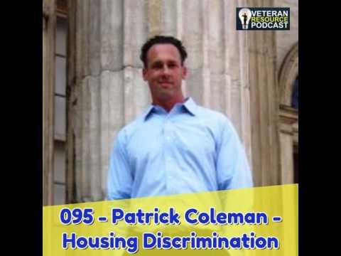 095 - Patrick Coleman - Housing Discrimination Against Veterans