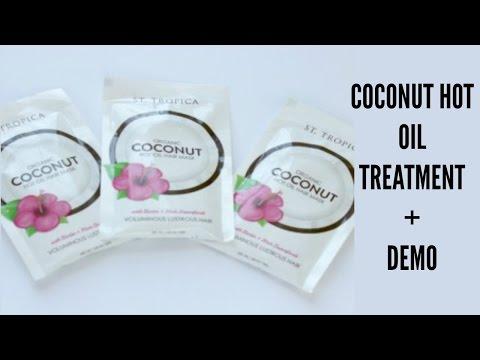 Organic Coconut Hot Oil Mask + Demo