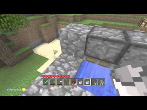 Minecraft Xbox 360: Ep: 21- Automatic Wheat Farm with PISTONS!!