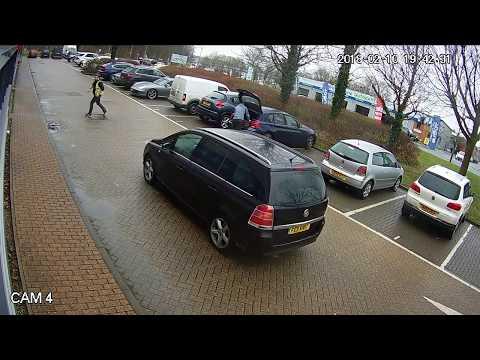 UK Planet Tools - Tool theft caught on camera in Milton Keynes