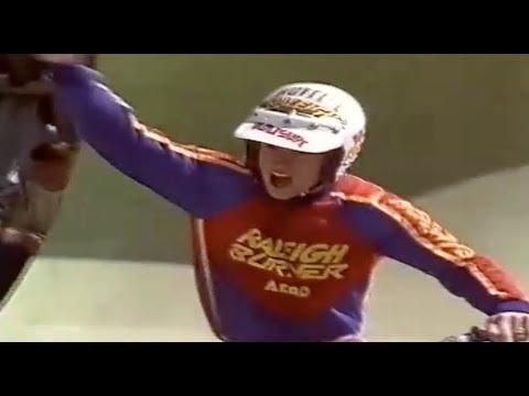 Andy Ruffell Does Some 'Stuntabiking' 1985