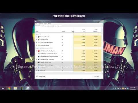 ★ Get Windows 8 Task Manager on Windows 7 ★