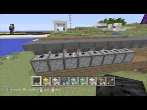 how to make an automatic vending machine in minecraft