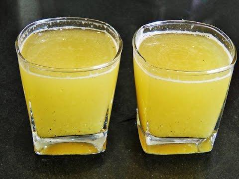 कैरीचे पन्हे | Kairiche Panhe Recipe | Raw Mango Drink | madhurasrecipe