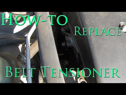 Belt Tensioner Replacement 2003 to 2008 Toyota Corolla Matrix Vibe | How to Replace | Tutorial