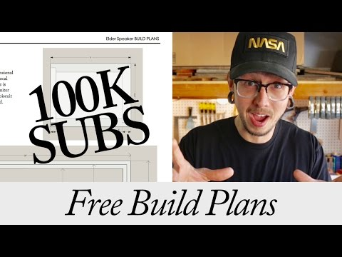 Free Build Plans at 100k Subs | THANK YOU ALL!