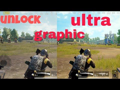 Pubg mobile unlock ultra HD graphics ( Hindi )