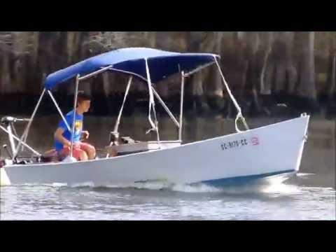 Installing an inboard motor in homemade boat (short version)