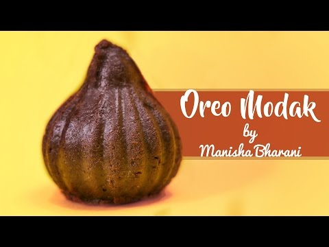 Oreo Modak - Easy & Quick Indian Sweet - Ganesh Chaturthi Special Recipe