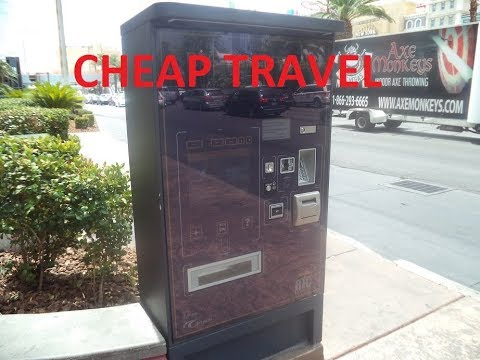 How To Purchase A Bus Pass On The Las Vegas Strip
