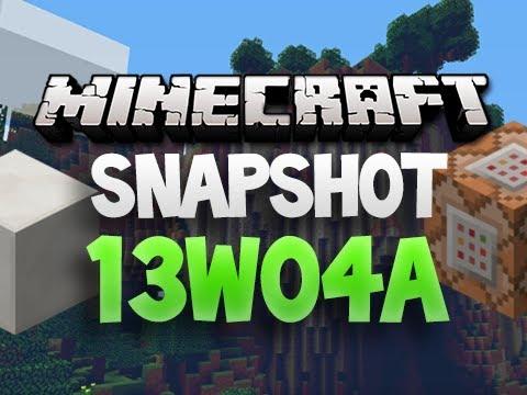 SCOREBOARD, NEW BONEMEAL & MORE! - Minecraft Snapshot 13w04a