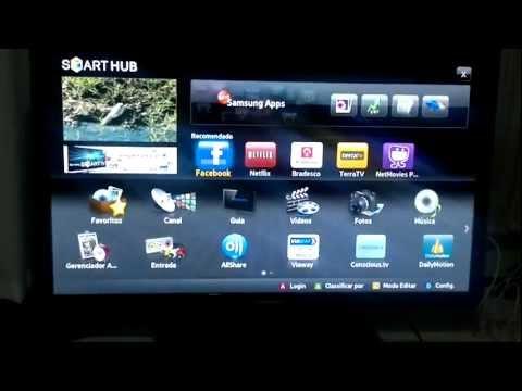 01 - Internet - Smart TV - Samsung UN40D5500 x LG 42LV5500 Comparativo