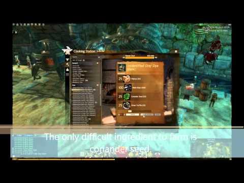 Guild Wars 2 Crafting Black dye