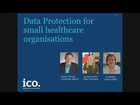 Data Protection for small healthcare organisations. (*re-edited March 2018)