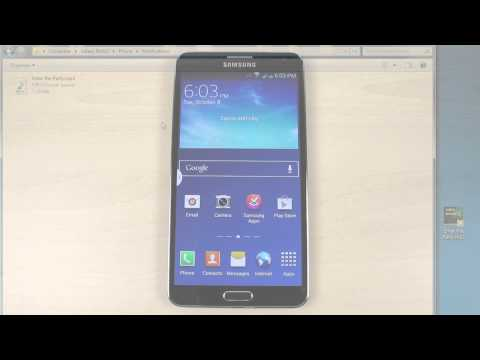 How to customize the ringtone on Samsung Galaxy Note 3