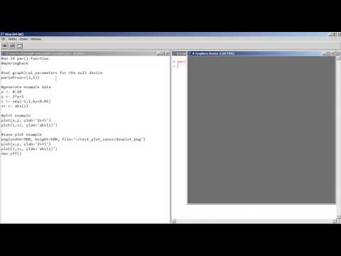 Learn R quick and diRty 26 - Use PAR to Set Rules for R Plots