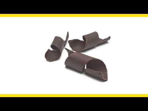 Here's How to Make Chocolate Curls for Garnish
