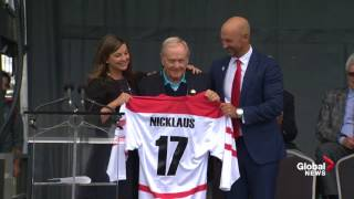 Jack Nicklaus helps open 2017 RBC Canadian Open