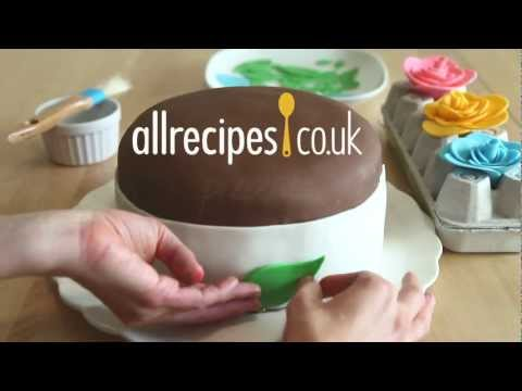 How to make fondant icing video - Allrecipes.co.uk
