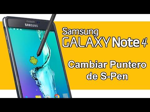 Samsung GALAXY Note 4 - Cambiar Puntero de S-Pen